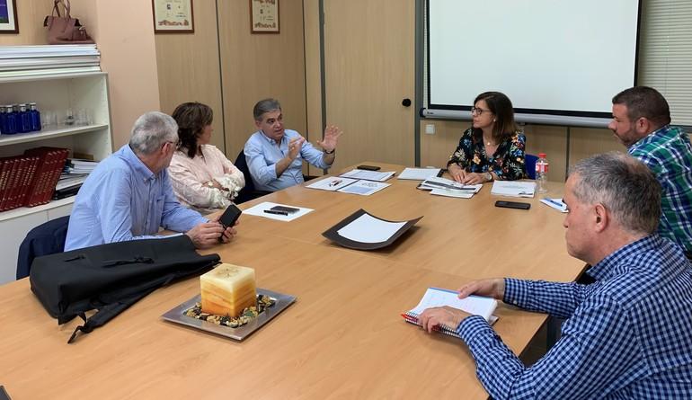 Beatriz Artolazabal, en un encuentro con la Cuadrilla de Rioja Alavesa en Laguardia