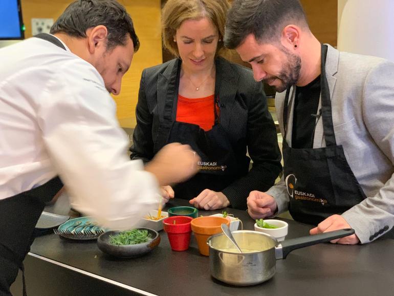 Web berri batean 750 enpresa eta establezimendu gastronomiko baino gehiagoren informazioa biltzen du Euskadi Gastronomikak