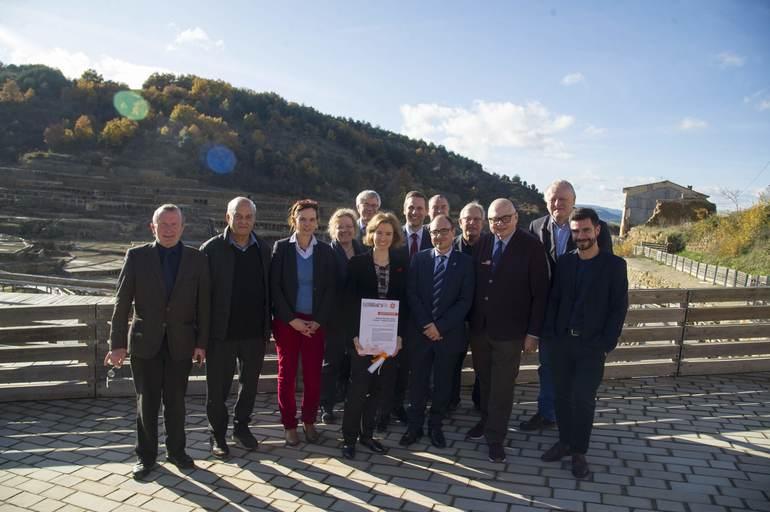 Las Salinas de Añana nuevo Anchor Point Europeo de la Red de Turismo Industrial