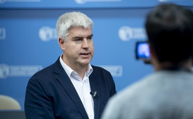 Paul Ortega, director de la Agencia Vasca de Cooperación para el Desarrollo