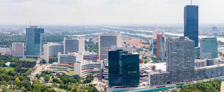 Sede de la ONU en Viena (Austria)