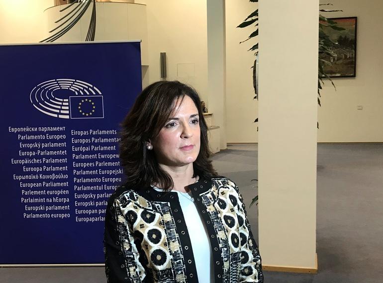 (Archivo) Beatriz Artolazabal en Bruselas