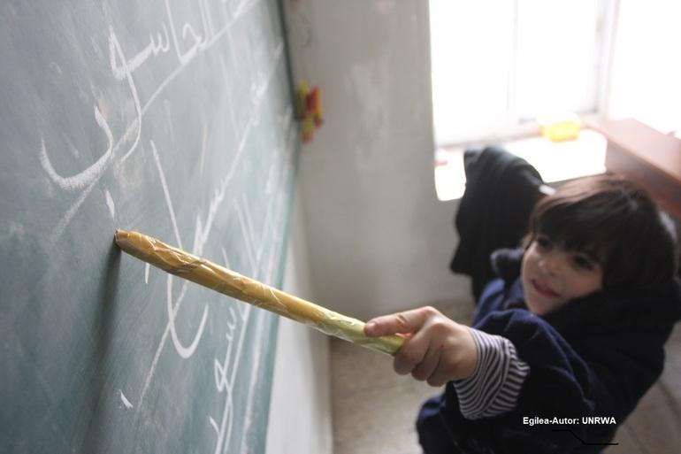Egilea-Autor: UNRWA