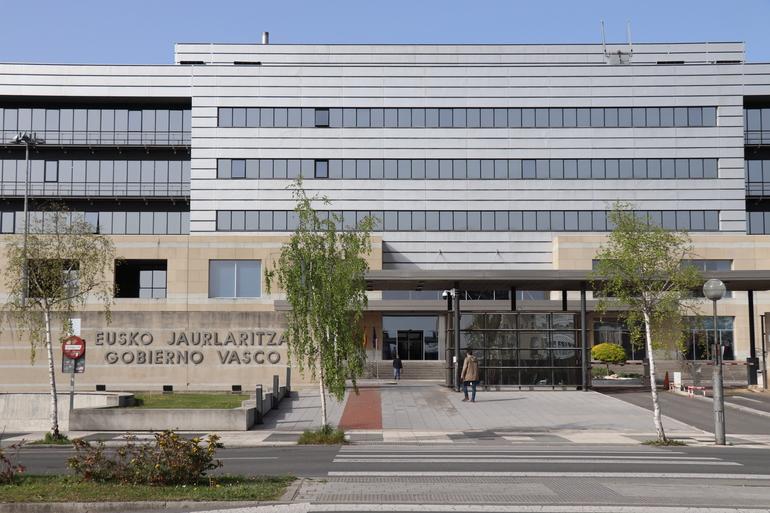 Instalaciones del Gobierno Vasco, en Lakua