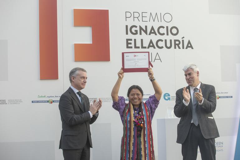 Lolita Chávez, Ignacio Ellacuría 2017