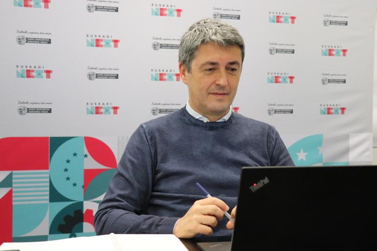 Un momento de la intervención de Jordi Campàs en este foro