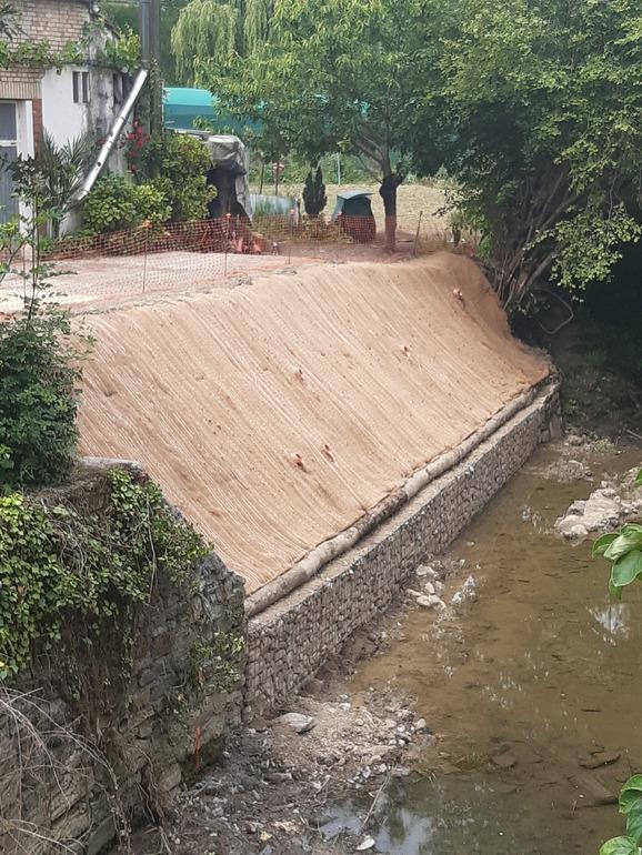 Restauración de un tramo de ribera del arroyo Zankueta