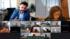 Reunión por videoconferencia+ Imágenes AV service Comisión Europea