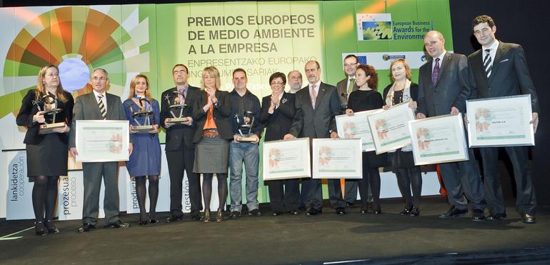 """berdrola, Osakidetza Comarca Bilbao, Udapa, Yor, Sener y Colegio Calasancio obtienen los """"Premios Europeos de Medio Ambiente a la Empresa"""" en el País Vasco"""