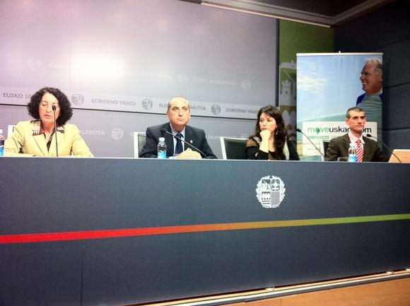 Eusko Jaurlaritzak Moveuskadi.com aurkeztu du: Euskadiko garraio publikoko ibilbideen programa planifikatzailea